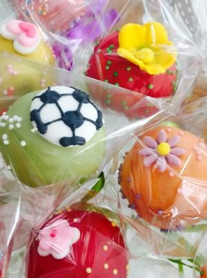 Soccer Cake Pops