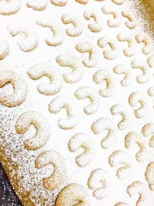 Vanille-Kipferl